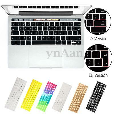 "Silicone Copri Tastiera Cover Keyboard Per Apple 2016 New Macbook Pro 13""/15"" EU"