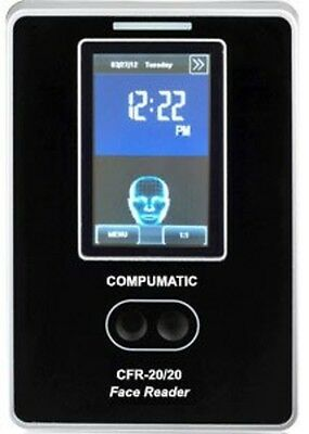 Compumatic Biometric Face Reader Facial Recognition Time Clock System CFR-20/20
