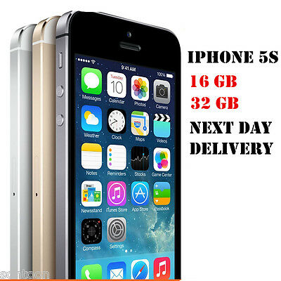 Unlocked Apple iPhone 5S 16GB 32GB Factory Smartphone A+++ GOLD SILVER GREY