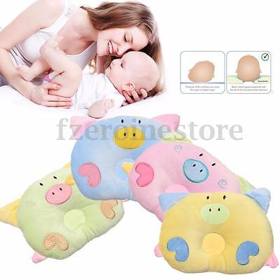 Newborn Baby Infant Prevent Flat Head Anti Roll Sleep Pillow Cushion Positioner