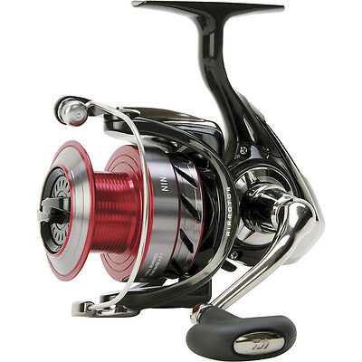 Daiwa Ninja Front Drag Coarse Fishing Spinning Reel Free Spare Spool All Sizes