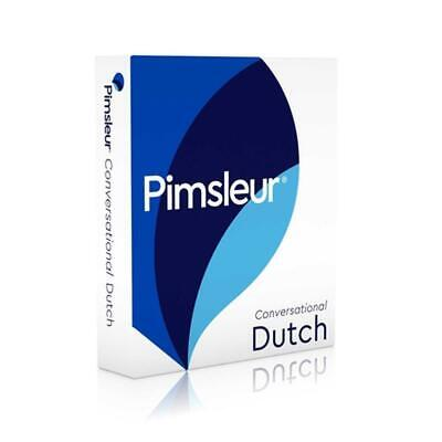 Pimsleur Conversational Dutch [With CD Case]: Learn to Speak and Understand Dutc