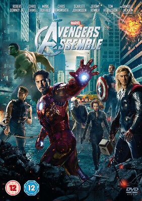 Avengers Assemble DVD (2012) Robert Downey Jr
