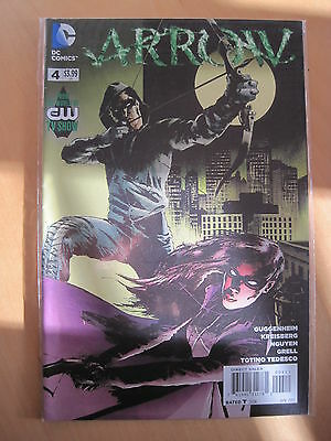 ( GREEN ) ARROW  4 by Guggenheim. From the world of the CW TV show.  DC. 2013