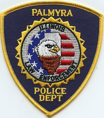 Palmyra Illinois Il Police Patch