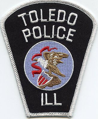 Toledo Illinois Il Police Patch