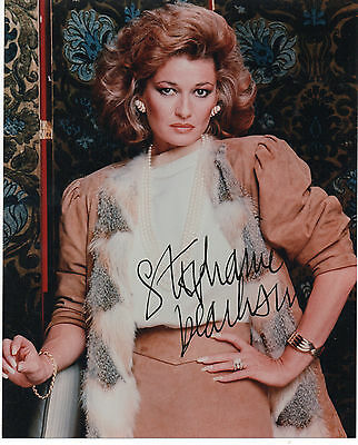 STEPHANIE BEACHAM 'DYNASTY' HAND SIGNED AUTOGRAPHED 8x10 PHOTO
