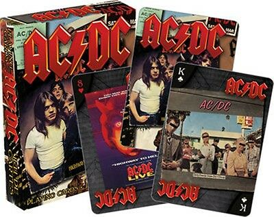 AC/DC set of 52 playing cards (LP Covers) + jokers (nm 52468)