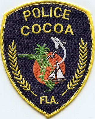 Cocoa Florida Fl Police Patch