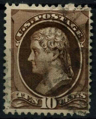 USA 1870-1882, 10c Jefferson Used #D39862