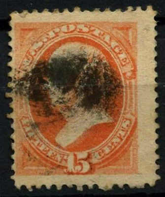 USA 1870-1879, 15c Webster No Grill Used #D39820