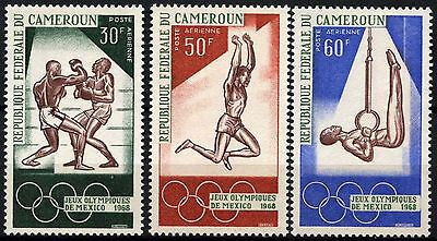 Cameroun 1968 SG#506-8 Olympic Games MNH Set #D39684