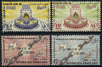Syria 1958 SG#653-6 Evacuation Of Foreign Troops MNH Set #D39592