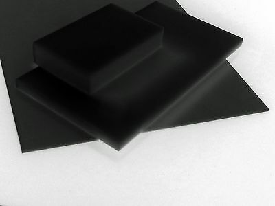Acetal Sheet  12 mm thick various standard sizes black or white