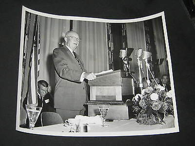 11 Photos of President Eisenhower at a 1960s Boy Scout Dinner and Event    c27
