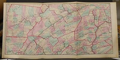 State of Pennsylvania Map, 1874, Central Section, Tri Fold, K1#54