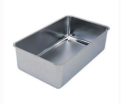 "Update SWP-6 Stainless Steel Spillage Pan 6.25in Deep 20""L x 12""W x 6""H"