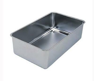 "Update Stainless Steel Spillage Pan 6.25In Deep 20""l X 12""w X 6""h - Swp-6"