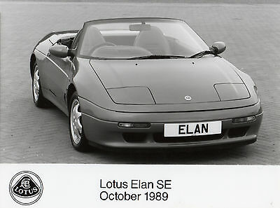Lotus Elan SE Press Photograph - 1989