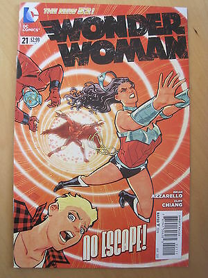 WONDER WOMAN  # 21. 1st PRINT. THE NEW 52. GREAT COVER !  DC. 2013