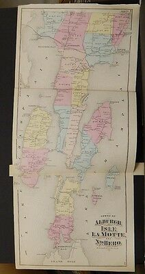 Vermont, Grand Isle County Map, 1871, Township of Alburgh, Isle La Motte, K2#04
