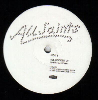 All Saints All Hooked Up Vinyl Single 12inch NEAR MINT London Records