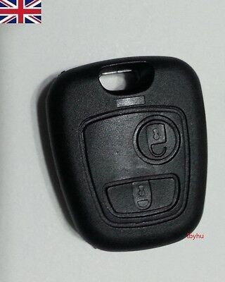 NEW Citroen Xsara Picasso 2 Button Remote Key Fob Case Shell & Blade for Repair