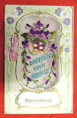 Ww1 Christmas Card From A Soldier At The Front In France,+ Letter & Photo.1918.