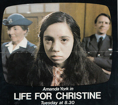 Amanda York Star Of Scrubbers Movie Life For Christine Prison Hand Signed Letter