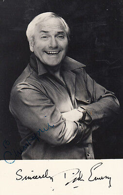 Dick Emery Hand Signed Photo