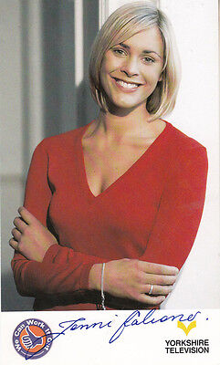 Jenni Falconer We Can Work It Out Hand Signed Cast Card Photo