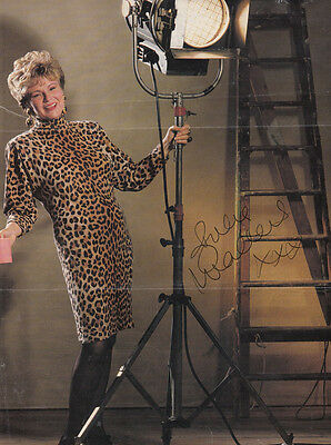 Julie Walters He'll Be Wearing Pink Pyjamas Hand Signed Picture