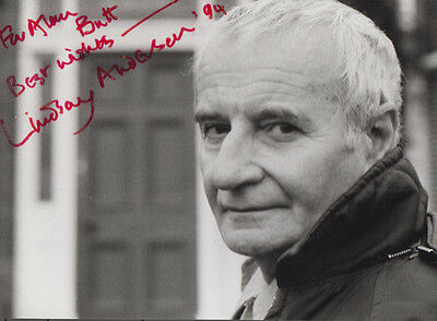 Lindsay Anderson Chariots Of Fire Malcolm McDowall Film Rare Hand Signed Photo
