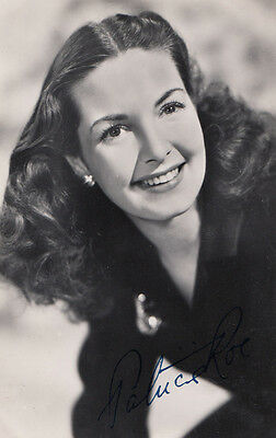 Patricia Roe Vintage 1950s Printed Signed Hand Appearance Photo