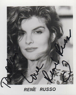 Rene Russo Lethal Weapon Thor Vintage Hand Signed Publicity Photo
