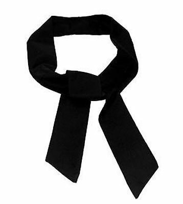 """The""""BLACK"""" Neck Cooler Scarf Ice Cold Therapy Tie Bandana SIZE: """"5cm x 100cm"""""""