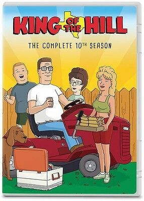 King Of The Hill: The Complete 10th Season - 2 DISC SET (2015, REGION 1 DVD New)