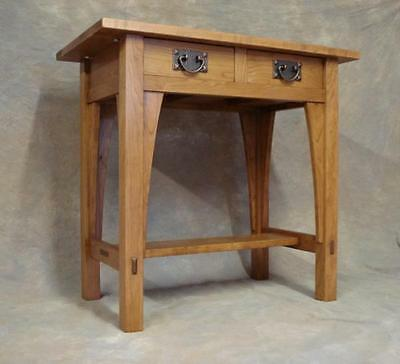 Reproduction Stickley Library Table  #615  Mission Cherry Free Shipping