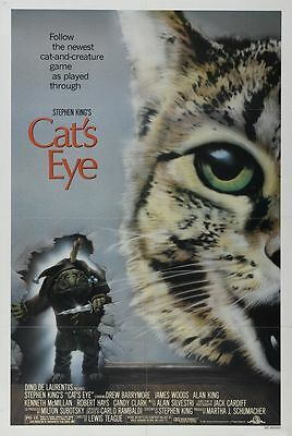 The Cat`s Eye Rolled Original Movie Poster #141