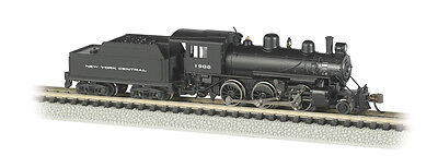 New York Central Alco 2-6-0 Mogul Steam Locomotive #1906 w/Decoder DCC N-Scale