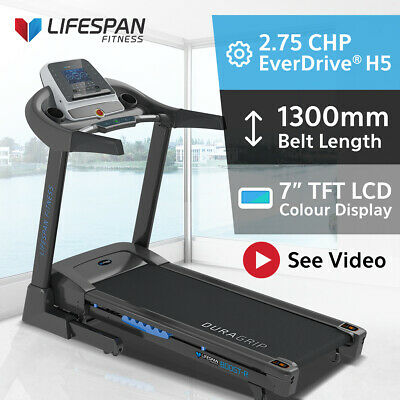 Lifespan Electric Treadmill PRO ADJUSTABLE SUSPENSION Quiet EverDrive® Motor