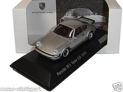 Porsche 911 Turbo 3.0 no. 1 1974 Silver Spark 1:43 Ltd.Edition wap0201440g NEW