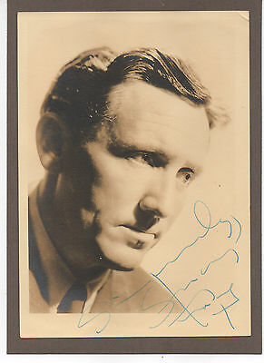 SPENCER TRACY HAND SIGNED AUTOGRAPHED 5x7 PHOTO