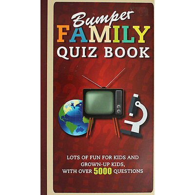 Bumper Family Quiz Book by Parragon (Paperback), Non Fiction Books, Brand New