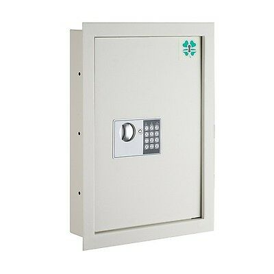 Lucky Guard Electronic Wall Safe Hidden .63 CF Large Safes Jewelry Secure NEW