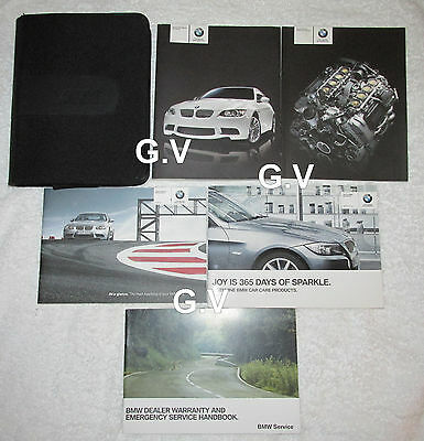 Bmw M3 Coupe Convertible Owners Manual With Wallet 2011 Free Post