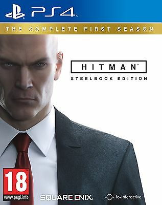 Hitman: The Complete First Season Steelbook Edition PS4