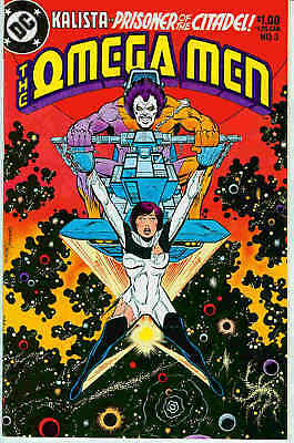 Omega Men # 3 (Keith Giffen, FIRST Lobo appearance!!! SCARCE) (USA, 1983)