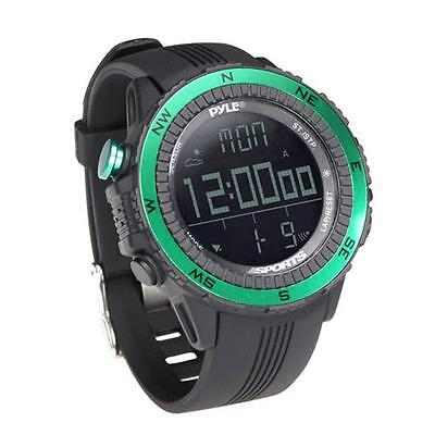 PyleSports PSWWM82GN Digital Multifunction Active Sports Watch Green