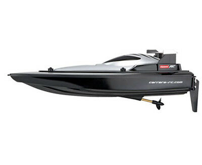 NEW! 301012 CARRERA R/C RACE SPEED BOAT BLACK RADIO CONTROL RTR 2.4GHz AGES 14+